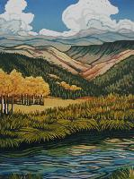 An Angie Coleman Woodcut